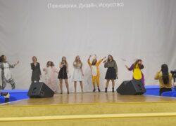 Новогодний концерт учащихся гимназии